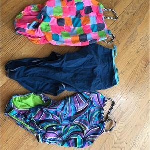 Swim practice suits